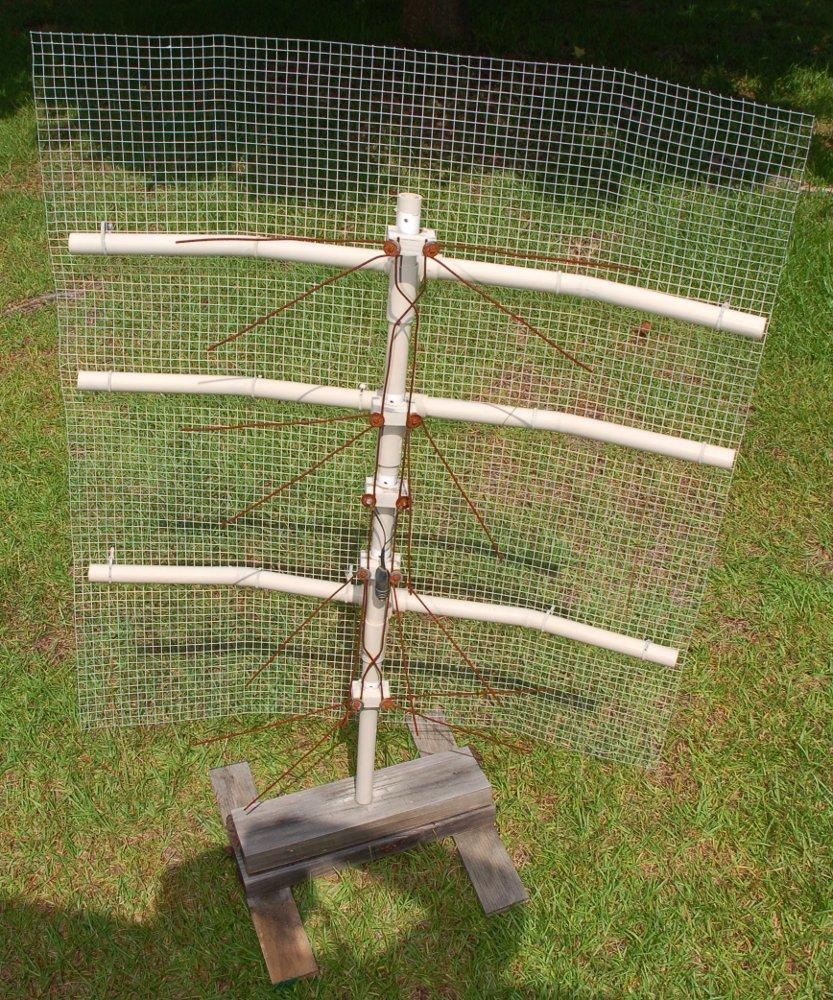Home tv antenna mast design
