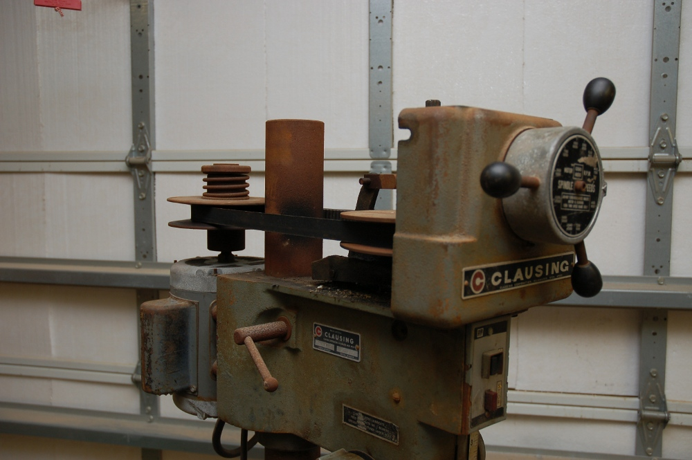 Clausing Drill Press: Ups and Downs | A Blog Devoted to my