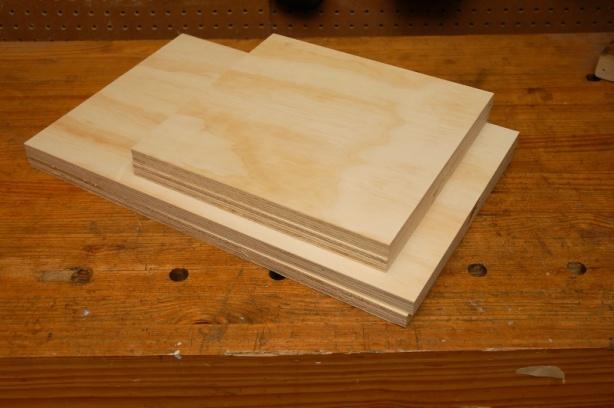 plywood tool box