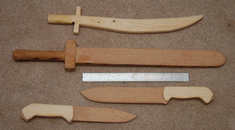 Wooden Swords and Knives | A Blog Devoted to my Many Hobbies