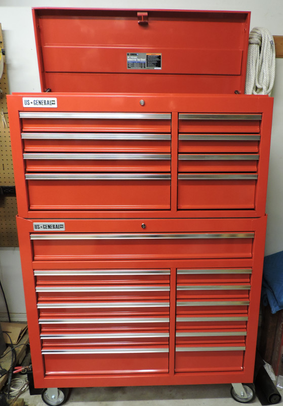 Swapping Drawers on the 44″ Harbor Freight Tool Cabinet | A