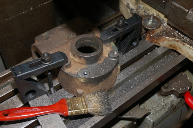 open build how to fix rough shaft turn