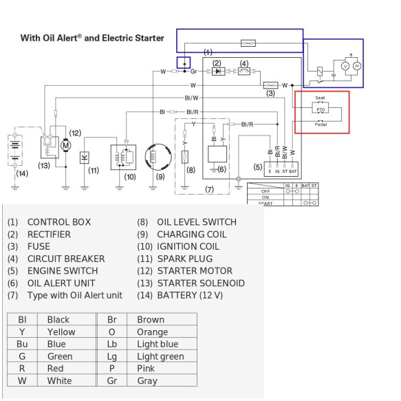 wheelhorse wiring diagram wheel horse 417 8 part 4 electrical a blog devoted to my many  wheel horse 417 8 part 4 electrical